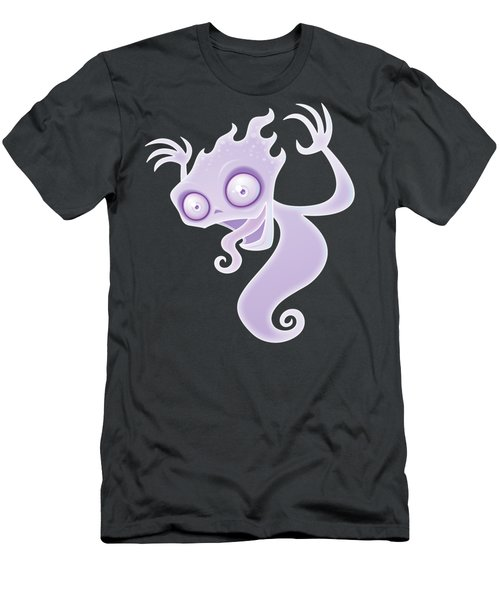 Ghost In The Graveyard Men's T-Shirt (Athletic Fit)