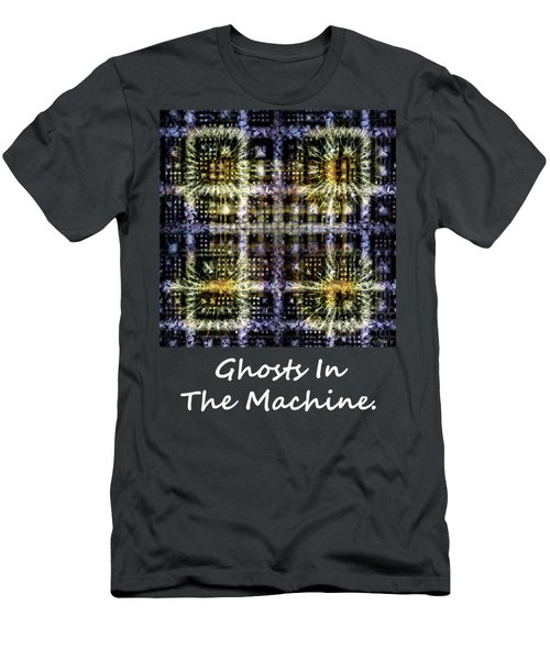 Ghosts In The Machine - Poster  And T-shirt Design Men's T-Shirt (Athletic Fit)