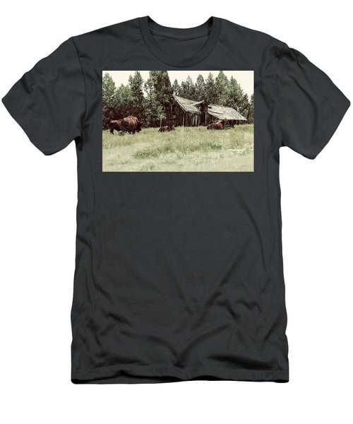 Ghosts Of The Plains Men's T-Shirt (Athletic Fit)