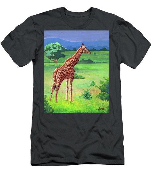 Giraffe Men's T-Shirt (Athletic Fit)