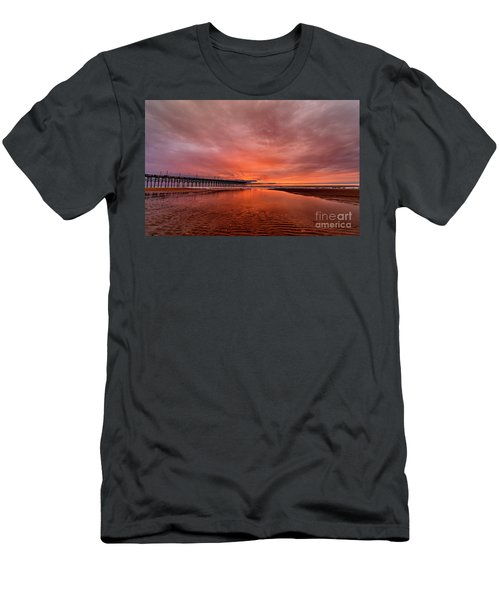 Glowing Sunrise Men's T-Shirt (Athletic Fit)