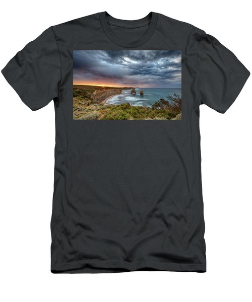 Men's T-Shirt (Athletic Fit) featuring the photograph Gog And Magog by Chris Cousins