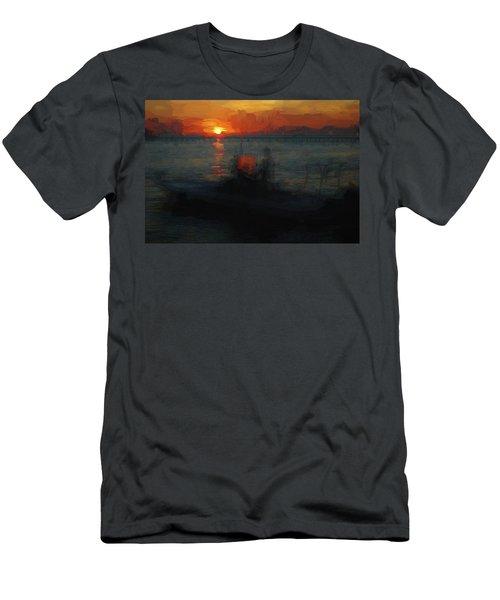 Going Fishin' Men's T-Shirt (Athletic Fit)