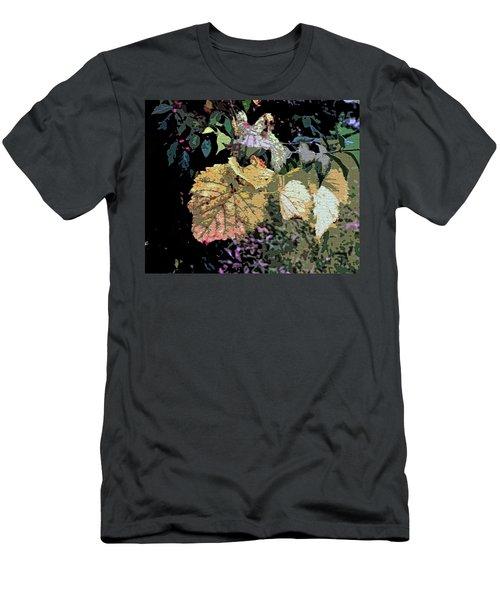 Gold Leaf Men's T-Shirt (Athletic Fit)
