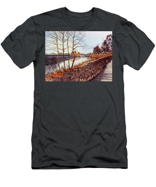 Golden Brown Men's T-Shirt (Athletic Fit)
