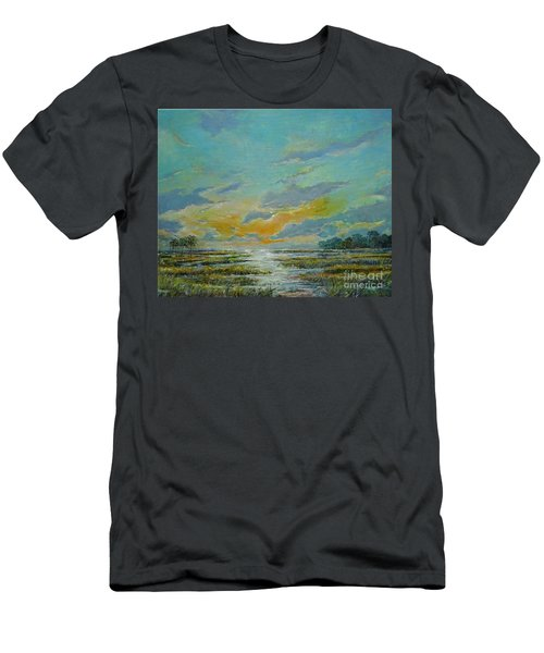 Golden Florida Dusk Men's T-Shirt (Athletic Fit)