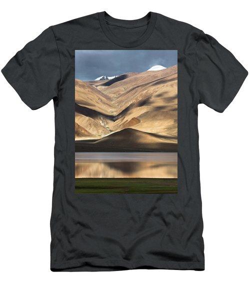 Golden Light Tso Moriri, Karzok, 2006 Men's T-Shirt (Athletic Fit)