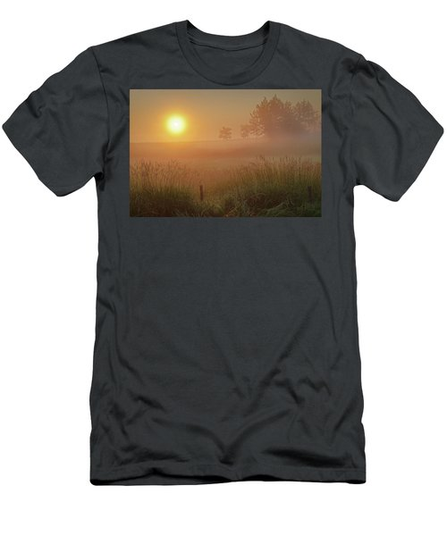 Golden Morning Men's T-Shirt (Athletic Fit)