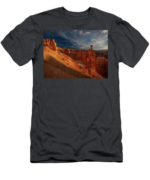 Men's T-Shirt (Athletic Fit) featuring the photograph Good Morning Bryce by Edgars Erglis