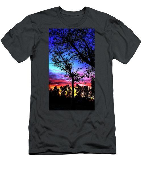 Good Night Leaves In Fall Men's T-Shirt (Athletic Fit)