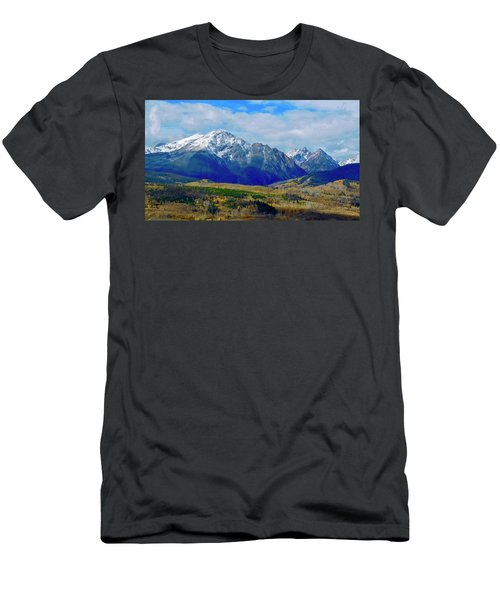 Men's T-Shirt (Athletic Fit) featuring the photograph Gore Mountain Range by Dan Miller