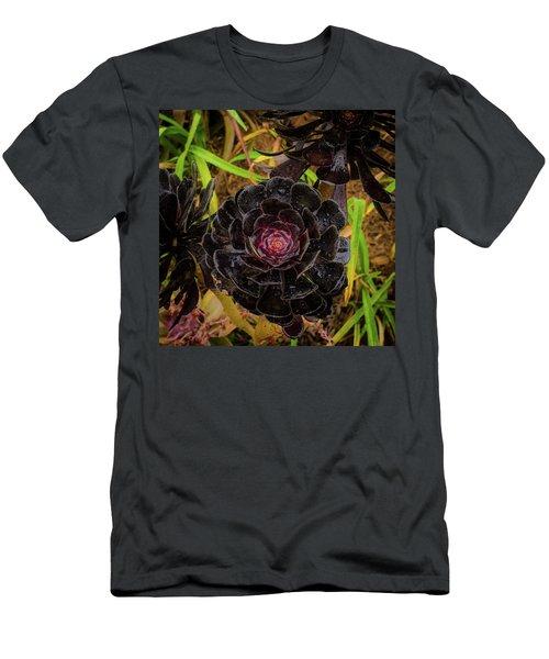Goth Succulent Men's T-Shirt (Athletic Fit)