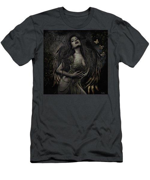 Gothic Angel, Aurelia Men's T-Shirt (Athletic Fit)