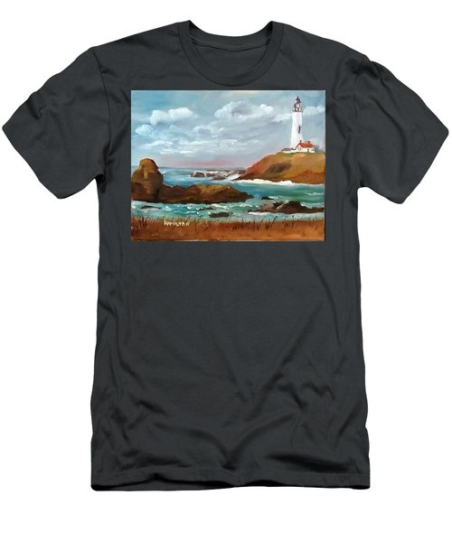 Grand Lighthouse Men's T-Shirt (Athletic Fit)