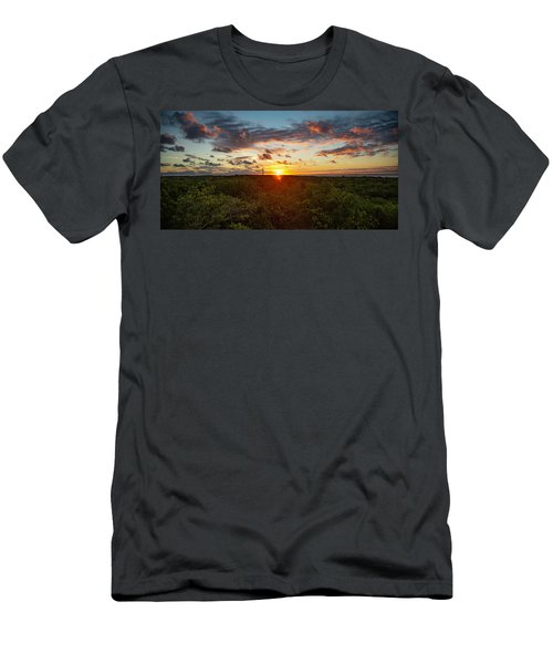 Great Exuma Sunrise Men's T-Shirt (Athletic Fit)