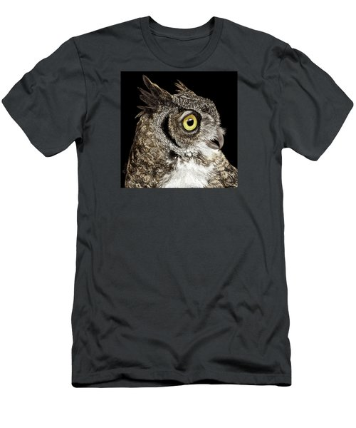 Great-horned Owl Men's T-Shirt (Athletic Fit)