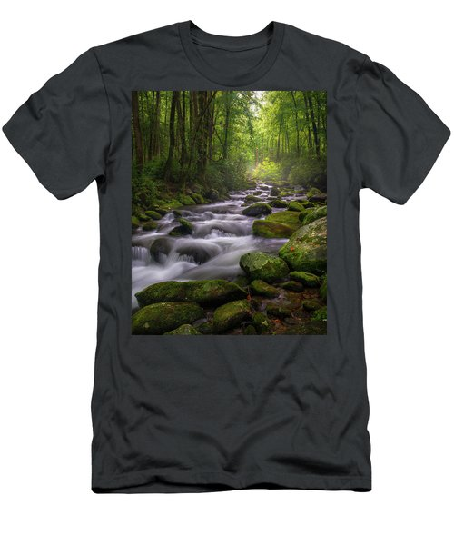 Great Smoky Mountains Gatlinburg Tennessee Men's T-Shirt (Athletic Fit)