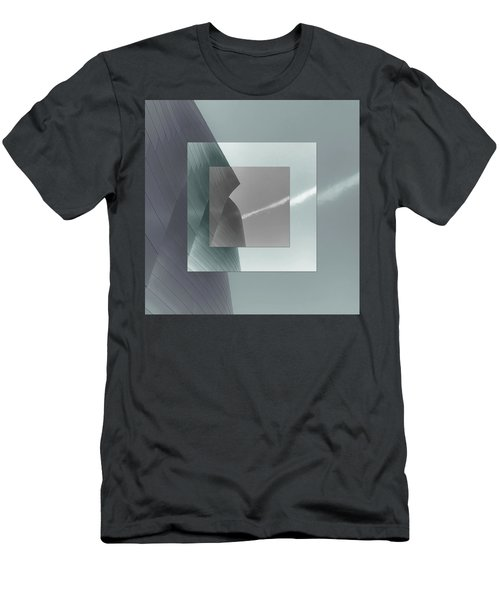 Green Gehry Men's T-Shirt (Athletic Fit)