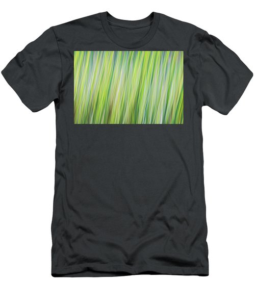Green Grasses Men's T-Shirt (Athletic Fit)