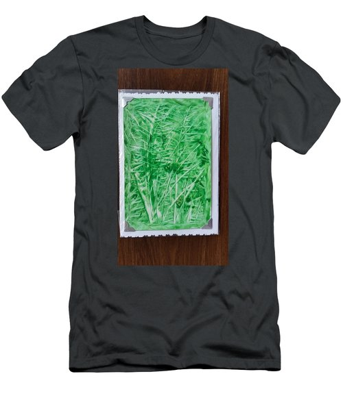 Green Jungle Men's T-Shirt (Athletic Fit)