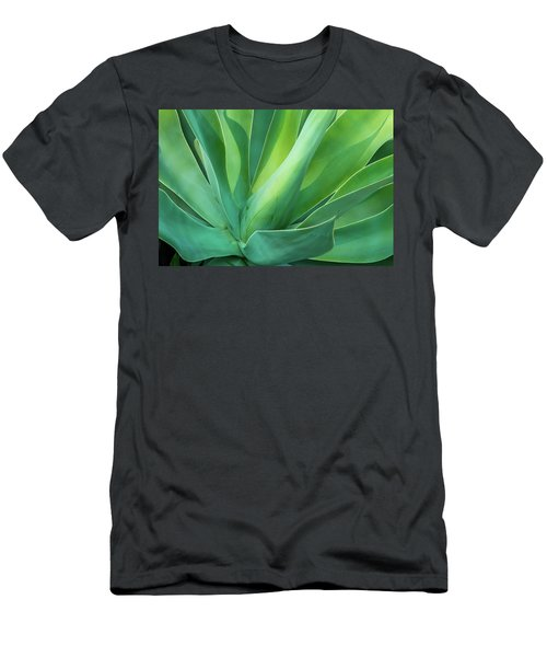 Green Minimalism Men's T-Shirt (Athletic Fit)
