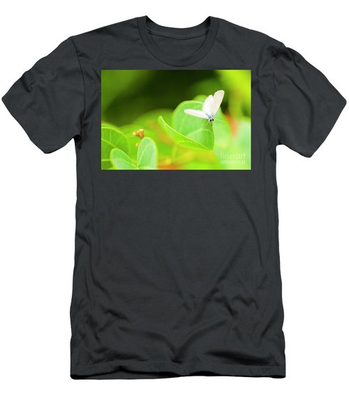 Green Wilderness Men's T-Shirt (Athletic Fit)