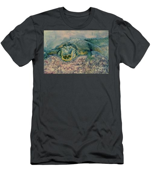 Grinning Gator Men's T-Shirt (Athletic Fit)