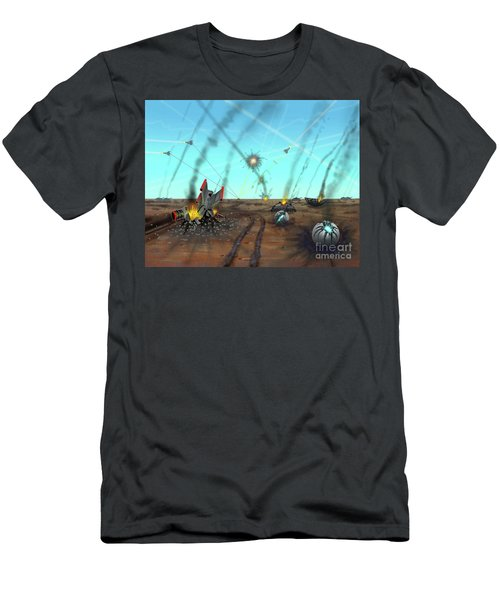 Ground Battle Men's T-Shirt (Athletic Fit)