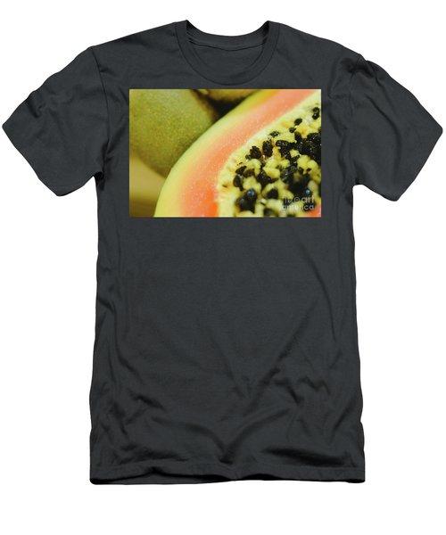 Group Of Fruits Papaya, Grape, Kiwi And Bananas Men's T-Shirt (Athletic Fit)