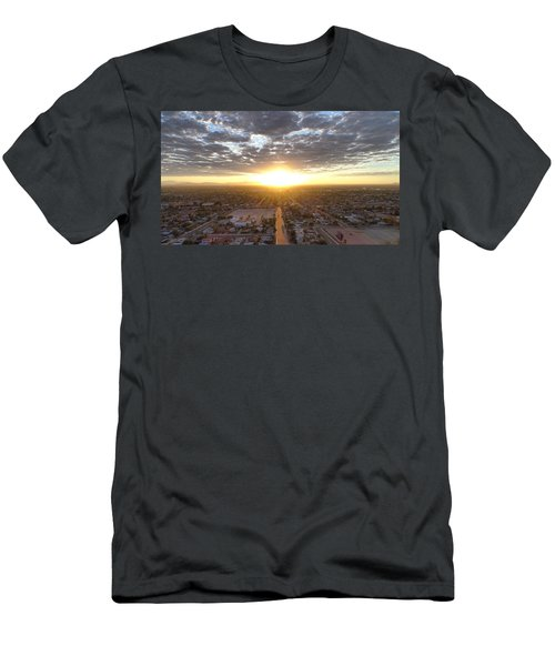 Guadalupe Sunset Men's T-Shirt (Athletic Fit)
