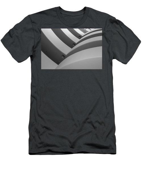 Guggenheim_museum Men's T-Shirt (Athletic Fit)