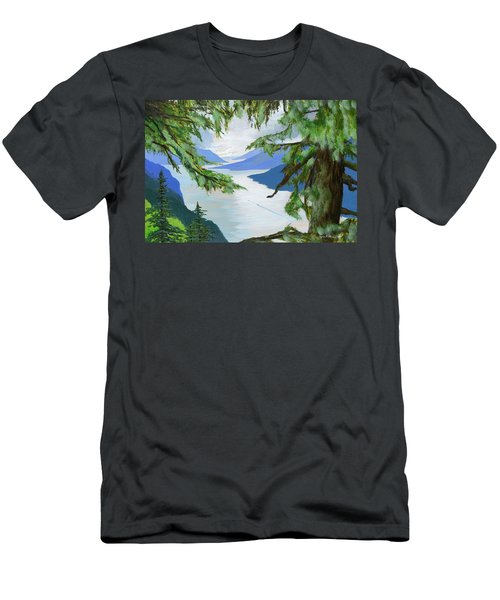 Guided Through The Fjords Men's T-Shirt (Athletic Fit)
