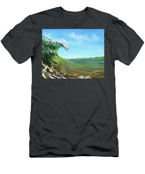 Gulf Of Mexico Surf Men's T-Shirt (Athletic Fit)