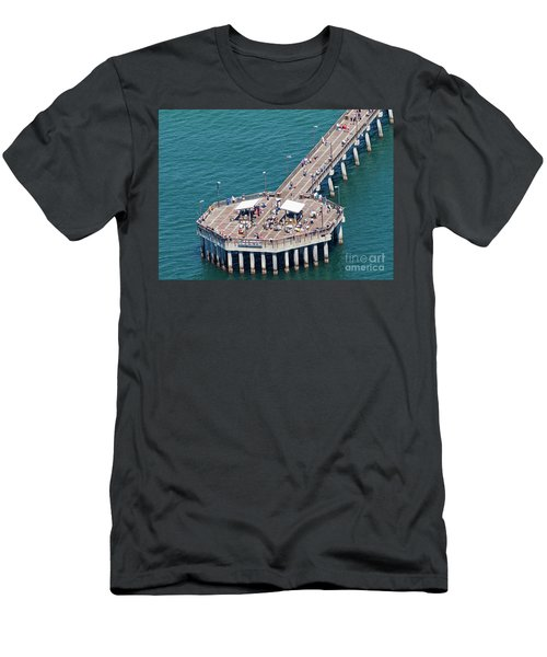Gulf State Park Pier 7467 Men's T-Shirt (Athletic Fit)