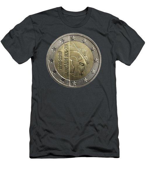 Gundam 40 Coin Dark Gray Men's T-Shirt (Athletic Fit)