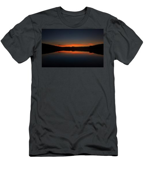 Sunset In The Reservoir Men's T-Shirt (Athletic Fit)