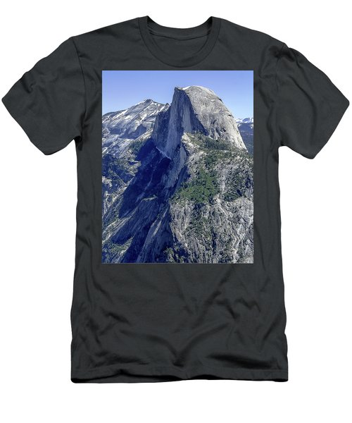 Half Dome From Glacier Point Men's T-Shirt (Athletic Fit)