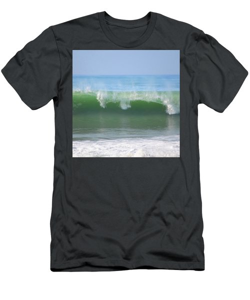 Men's T-Shirt (Athletic Fit) featuring the photograph Half Monn Breaker by Mark Shoolery