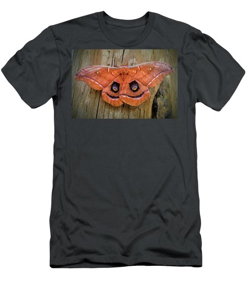 Halloween Moth Men's T-Shirt (Athletic Fit)