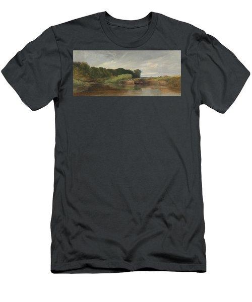 Hanham Lock On The Avon Men's T-Shirt (Athletic Fit)