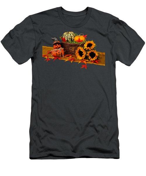 Happy Fall Men's T-Shirt (Athletic Fit)