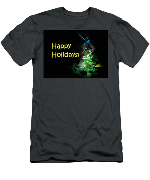 Happy Holidays - 2018-1 Men's T-Shirt (Athletic Fit)