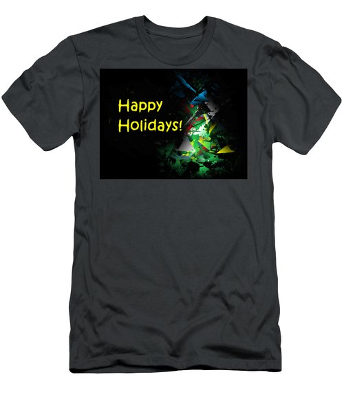 Happy Holidays - 2018-7 Men's T-Shirt (Athletic Fit)