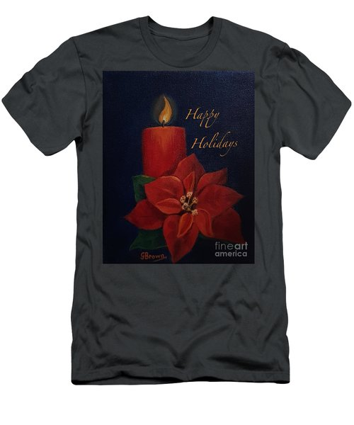 Happy Holidays Men's T-Shirt (Athletic Fit)