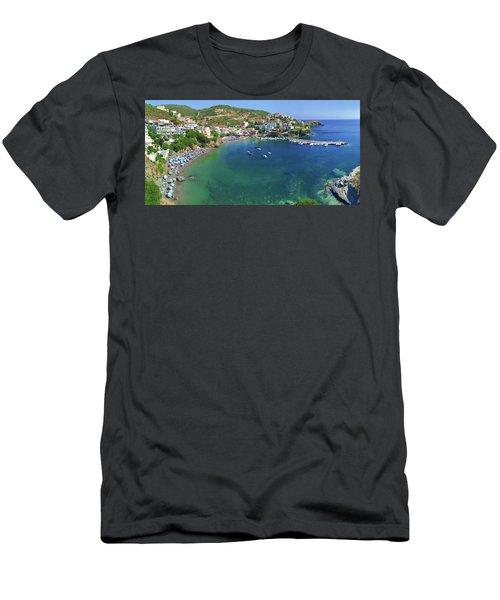 Harbor Of Bali Men's T-Shirt (Athletic Fit)