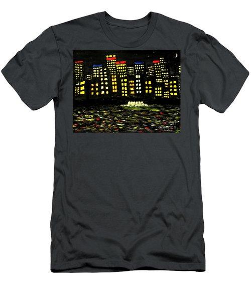 Harbour Lights Men's T-Shirt (Athletic Fit)