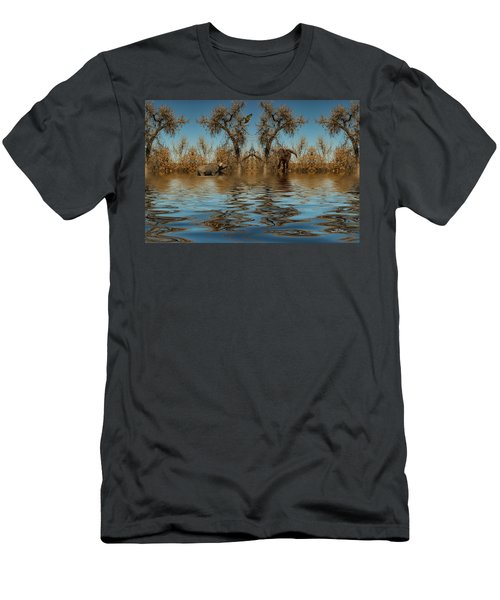 Men's T-Shirt (Athletic Fit) featuring the photograph Harmony In Nature by Mike Braun