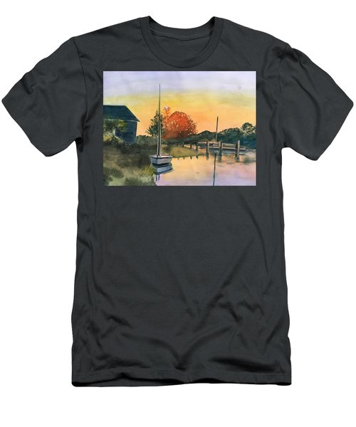 Harthaven Harbor, Mv Men's T-Shirt (Athletic Fit)