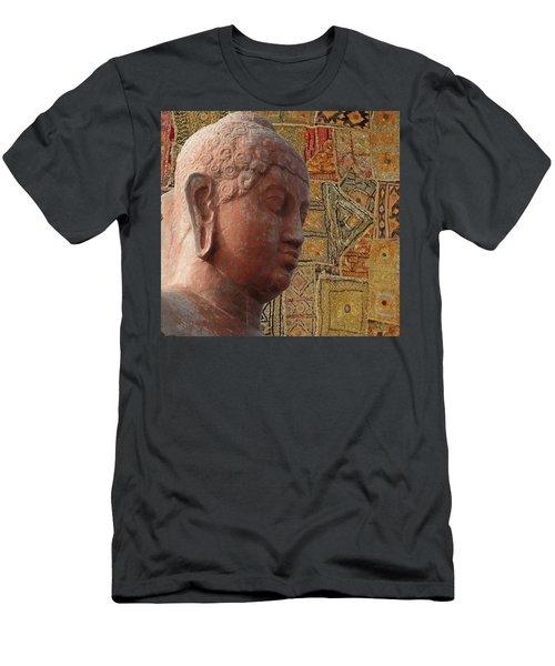 Head Of Buddha,  Men's T-Shirt (Athletic Fit)