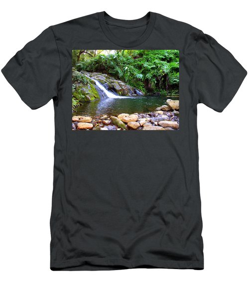 Healing Pool - Maui Hawaii Men's T-Shirt (Athletic Fit)